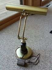 VTG Hollywood Regency Style Brass Bankers Fluorescent Piano Desk Lamp Chicago