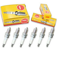 6 pc 6 x NGK Standard Plug Spark Plugs 2460 BKR5ES 2460 BKR5ES Tune Up Kit eh