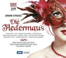 Die Fledermaus - Strauss / Rei (2014, CD NIEUW) Chen Reiss/Paul Armin Edelman2 D