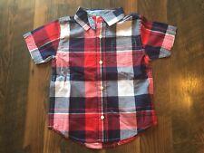Size 2T multi-color Nwt Plaid Button Up shirt by Gymboree