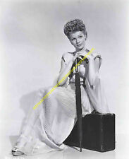 ACTRESS RITA HAYWORTH LEGGY IN A SEE-THROUGH ROBE PHOTO A-RH10