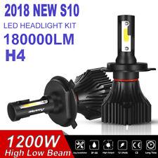 OSRAM H4 HB2 9003 COB 1200W 180000LM LED Headlight Kit Hi/Low Power Bulbs 6000K