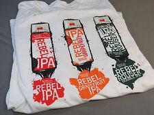Samuel Adams Rebel Ipa Xl Long Sleeve T Shirt Tee top beer bar draft sam New