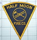 NEW YORK, HALF MOON FIRE COMPANY DEPT VINTAGE PATCH