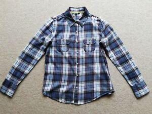 Roxy ladies blouse shirt size S 100% cotton