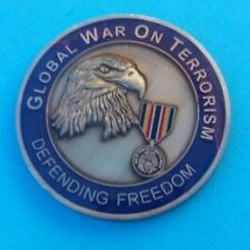 ~RARE~JOINT MISSION   Global War on Terrorism Insignia Challenge Coin