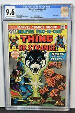 Marvel Two-In-One #6 (1974) CGC Graded 9.6 ~ Doctor Strange ~ Jim Starlin Cover