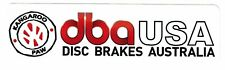 "dba USA Sticker Decal 7"" x 2"" ... DISC BRAKES AUSTRALIA"