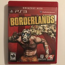 Borderlands 1 (PS3 Video Game) Complete In Box Original FREE SHIP