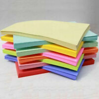 A4 Coloured Card Sheets Paper Arts Cardstock Colour 260 UK Activity Sugar Craft