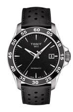 TISSOT V8 swissmatic automatic leather strap men's watch T106.407.16.051.00
