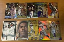 L2866 - RANDY MOSS - LOT OF 10 FOOTBALL CARDS - RAIDERS
