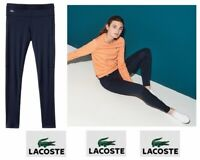 Lacoste womens tennis sport ultra dry Jersey track pants $95 price size 2 NWT