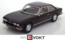 Norev Peugeot 504 Coupe 1973 Darkbrown 184822 Model Car 1:18 Genuine New