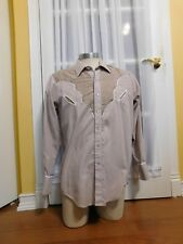 Tru-West Rockmount Ranchwear Western Snap Button Custom Fitted Shirt Made in USA