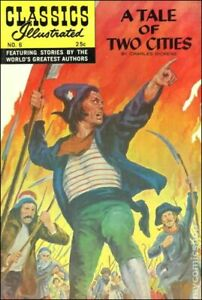 Classics Illustrated 006 A Tale of Two Cities #22 FN 1970 Stock Image