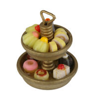 1:12 Cake Stand & Bakery Dessert Miniature Food for Dolls House Party Favors