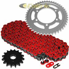 Red O-Ring Drive Chain & Sprockets Kit Fits YAMAHA R6S YZF-R6S 2006 2007 08 2009