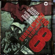 MARISS JANSONS-SHOSTAKOVICH:SYMPHONY NO.8-JAPAN CD C68