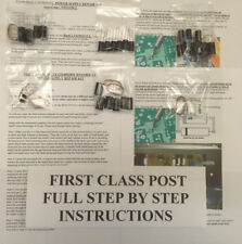 tkit4 Samsung LE46F86BD BN44-00166C dead flashing led power supply repair kit