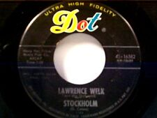 "LAWRENCE WELK ""STOCKHOLM / THE GIRL FROM BARBADOS"" 45"