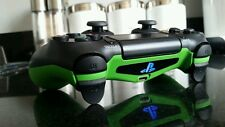 PS4 PS3 Fusion Rapid Fire Controller with Green Coated Grip