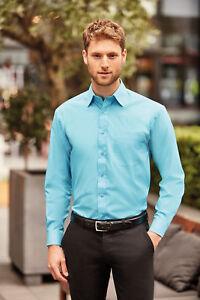Klassisches Herren Hemd Langarm Übergrösse M L XL 2XL 3XL 4XL Easy Care Oberhemd