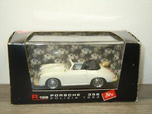 1952 Porsche 356 Rijkspolitie - Brumm R198 - 1:43 in Box *52415