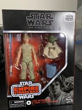 Hasbro Star Wars The Black Series Luke Skywalker and Yoda (Jedi Training) NIB