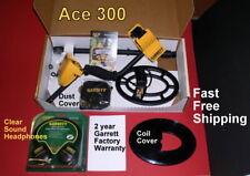 Garrett Metal Detector Ace 300 with Bonus Items Fast Free Shipping
