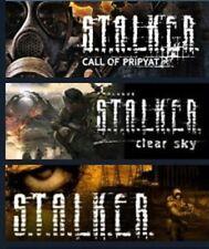 S.T.A.L.K.E.R. Complete Trilogy PC [Steam KEY] Stalker, Rare, Tschernobyl