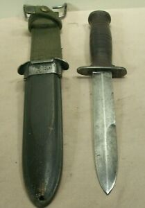 WWII~CASE~MK3 FIGHTING KNIFE~RARE ORIGINAL COMBAT WEAPON w/ORIG. USM8 SCABBARD~