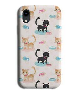 Cat Design Wallpaper Background Phone Case Cover Cats Feline Present Gift F008