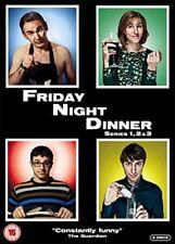 Friday Night Dinner Series 1 2 3 Season 3 2 1 One Two Three R4 DVD New (3 Discs)