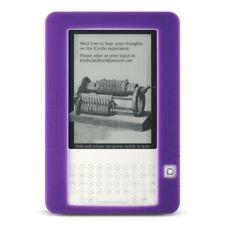 E-BOOK AMAZON KINDLE 2 SKIN CASE PURPLE