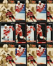 STEVE YZERMAN 34 CARD LOT 92-93 PINNACLE HOCKEY US $ FRENCH VERSIONS 1992-93