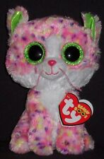 """TY BEANIE BOOS - SOPHIE the 6"""" PINK CAT - MINT with MINT TAGS"""