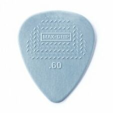 Dunlop 449P060 .60mm Max-Grip Nylon Standard Guitar Picks, 12-Pack