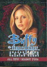 Inkworks Buffy TVS Season 2 Ultimate Collection Complete 90 Card Base Set
