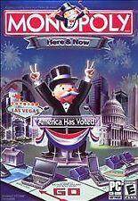 Monopoly Here & Now, Excellent Windows 98, Windows XP, Windows  Video Games