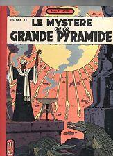 JACOBS. Le Mystére de la Grande Pyramide Tome 2. Lombard 1955. EO. TBE