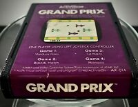 Activision  Grand Prix Atari 2600 7800 An Compatible Vintage Video Game Cart