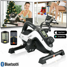 Under Desk Stationary Exercise Bike Portable Arm Leg Foot Pedal Trainer Workout