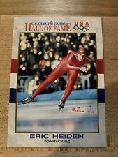 1991 Impel US Olympics Hall of Fame card Eric Heiden speedskatter