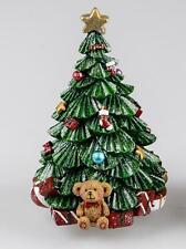 Carillon Albero di Natale Con Orsacchiotto H.19cm FORMANO W20