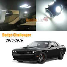 White LED Lights Upgrade Interior Package for 2015-2016 Dodge Challenger