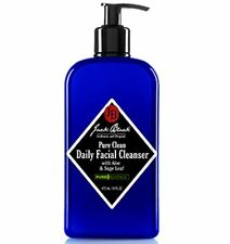 Daily Facial Cleanser Jack Black Pure Clean Aloe & Sage Leaf 16 OZ