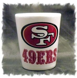San Francisco 49ers Ceramic Shot Glass