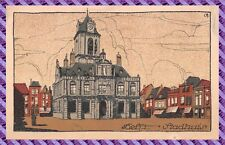 Carte Postale DELFT - stadhuis