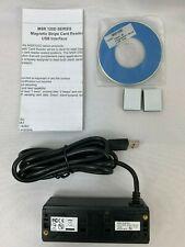 MSR 120D series - Magnetic Stripe Card Reader usb interface retail credit card